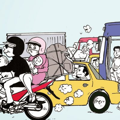 Cara Hemat Pakai Mobil di Kota