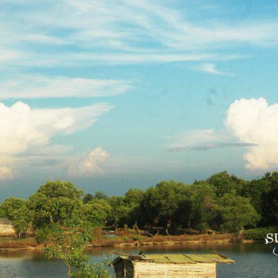 Dramatisnya Langit Surabaya