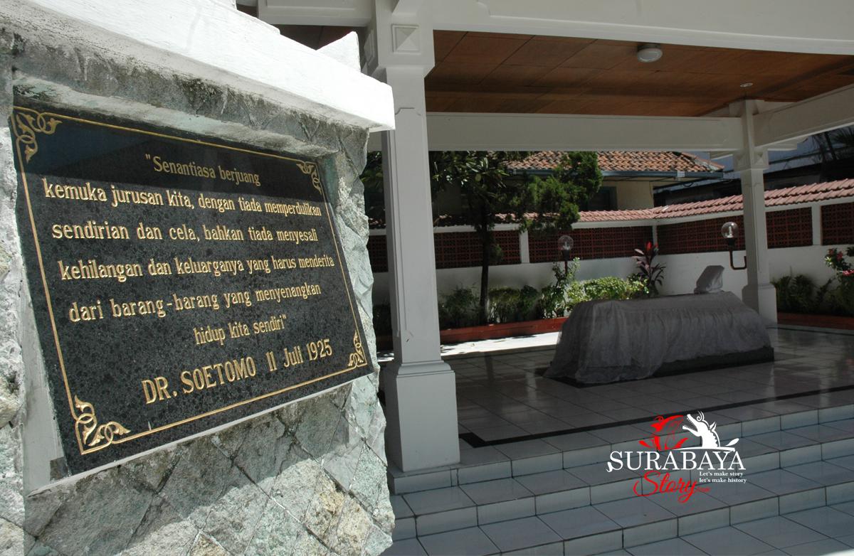 Sejarah Dan Nasionalisme Dr Soetomo Yang Diabadikan Di Sisi Makam Lingkungan Gedung Gni Bubutan Surabaya