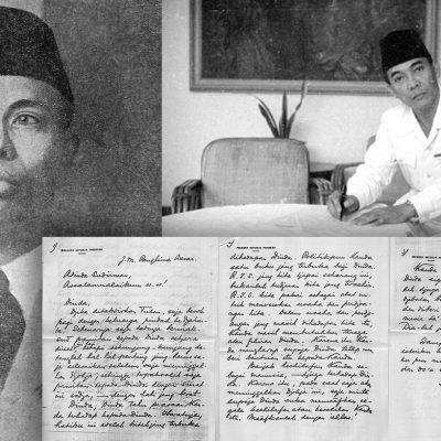 Surat Pribadi Presiden Soekarno untuk Jenderal Besar Soedirman