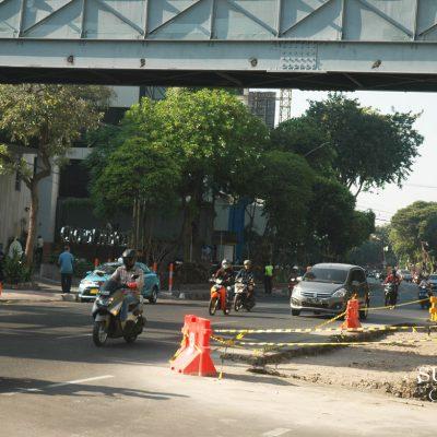 3 Penyempitan Jalan di Jantung Kota Surabaya