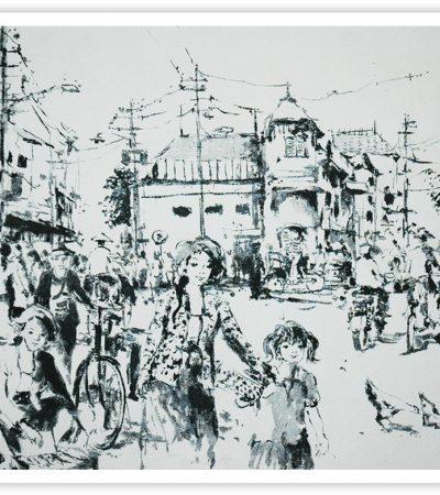Berty: Kenangan akan Pelukis Sketsa Surabaya