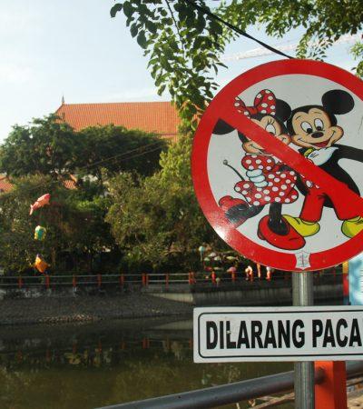 Rambu Imut Taman Prestasi Surabaya