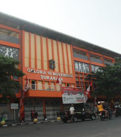 Wajah Baru Kawasan Gelora 10 November Tambaksari Surabaya