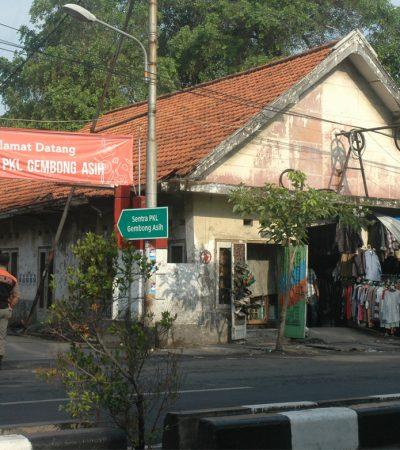 Gembong Asih Rumah Baru PKL Gembong Surabaya