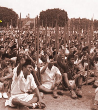 Rapat Samoedera di Lapangan Tambaksari Surabaya yang Terlupa