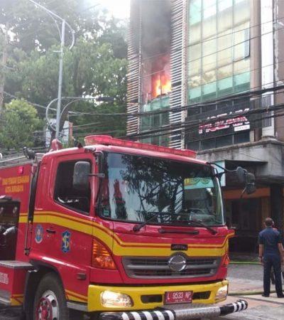 Waspada Tren Kebakaran di Surabaya