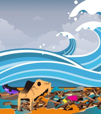 Air, Tsunami, Kota, dan Misterinya