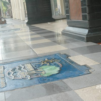 Eksotika Motif Penutup Drainase di Surabaya