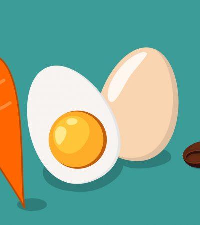 Pilih Wortel, Telur, atau Biji Kopi