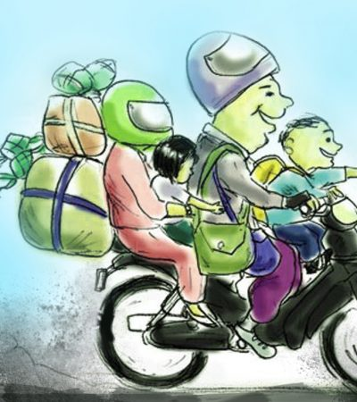 Cara Mudik Aman dengan Sepeda Motor