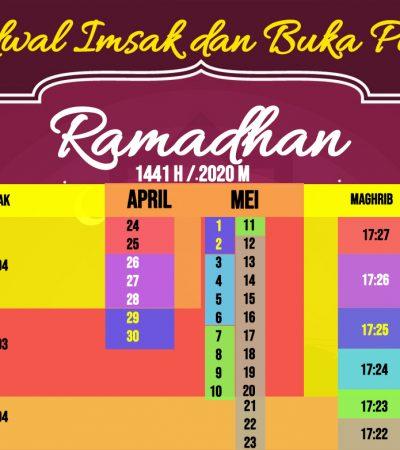 Jadwal Imsakiyah dan Buka Puasa di Surabaya Ramadhan 2020