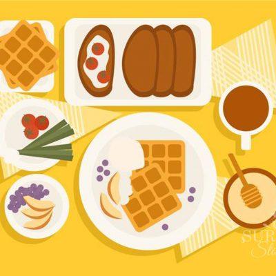 Menyiapkan Sarapan Sehat Nikmat untuk Anak-Anak