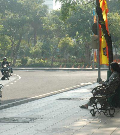 Perawatan Taman di Surabaya Tetap Berjalan