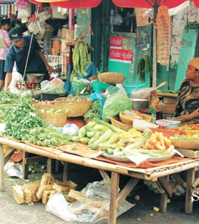 Warga Surabaya, Belanja di Pasar Tradisional Bisa dari Rumah