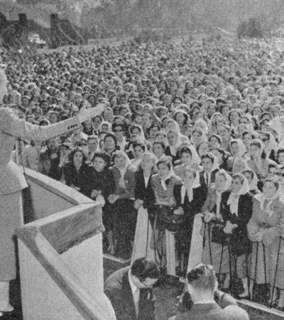 Inspirasi Perjuangan Evita Peron, Mawar Merah dari Argentina