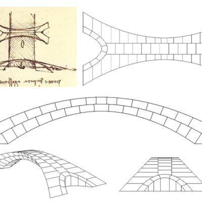 Menguji Desain Jembatan Leonardo da Vinci yang Tak Sempat Dibangun