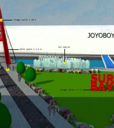 Kawasan Jembatan Joyoboyo Baru Surabaya Bisa Dinikmati Desember 2020