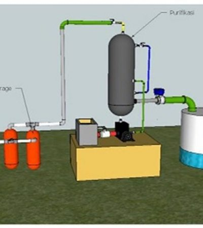 Paten Alat Pemurnian Biogas dari ITS