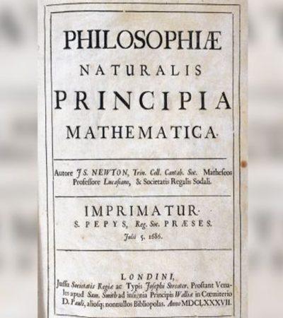 Edisi Pertama Buku Isaac Newton yang Langka Ditemukan